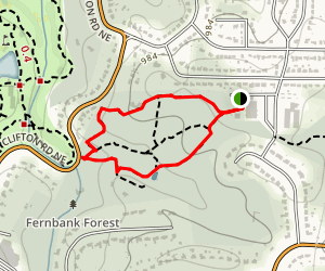 Fernbank Forest Trail Map