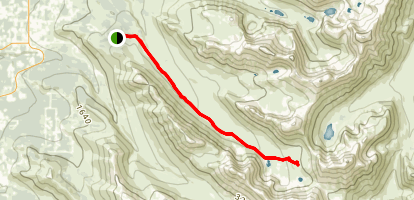The Ramp Trail Map