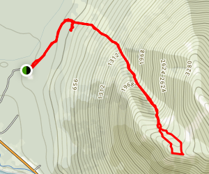 Penguin Peak Trail Map