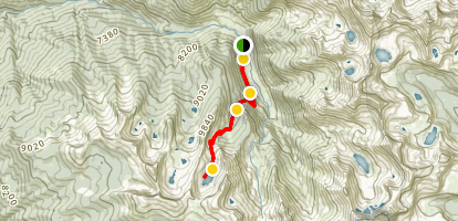 Mineral King to Eagle Lake Trail Map