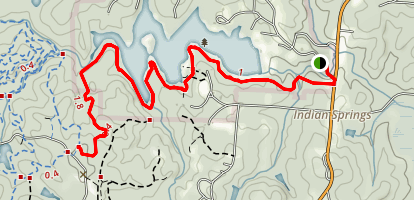 Indian Springs Multi-use Trail Map