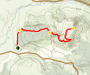 Keeper Hill Hike Map