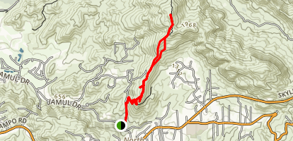 McGinty Mountain Trail Map