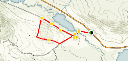 Míle Órga Loop Map