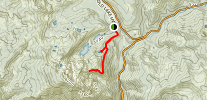 Volcano Lake & Mountain Mine Trail Map
