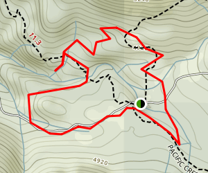 Wild Plum Loop Trail Map