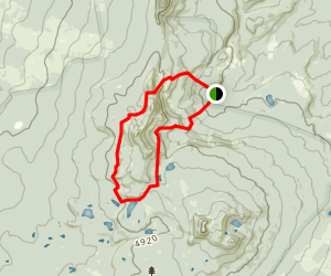 Indian Heaven Trail Map