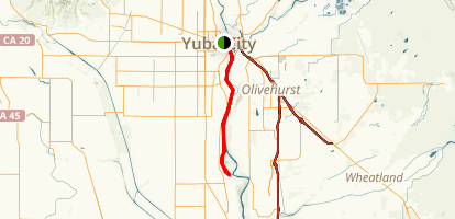 Yuba River Map