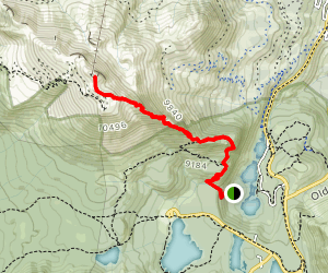 Up Dragons Back to Seven Lakes Point Map