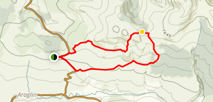 Foil Dearg Loop Map