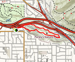 Parley's Historic and Nature Area Map