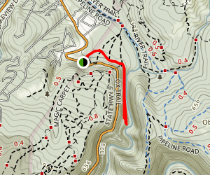 Ox Road Trail to Garden of Eden Map