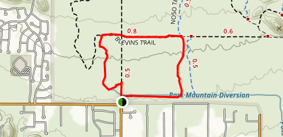 Crismon Wash Trail Map
