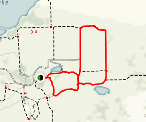 Tall Grass Nature Trail, Marsh Loop, and Rectangle Trail Map