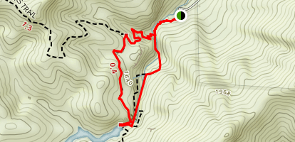 Bear Gulch Caves and Reservoir Loop Trail Map
