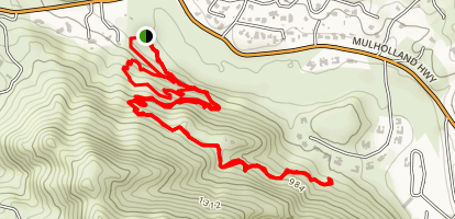 Peter Strauss Ranch Trail Map
