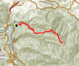 Limekiln Trail to Priest Rock and Kennedy Trail Map