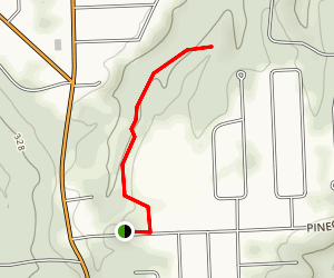 Helmer Nature Center Trails Map