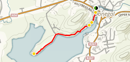 Donegal Town Bank Trail Map