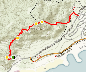 Lake Perris Area Trail Map