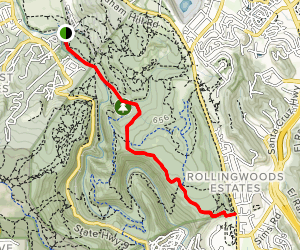 Pipeline Road Trail Map