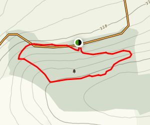 Kilbarry Wood Short Loop Map