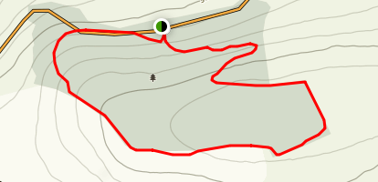 Kilbarry Wood Long Loop Map