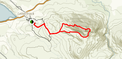 Upper Diamond Hill Trail Map