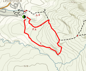 Lower Diamond Hill Trail Map