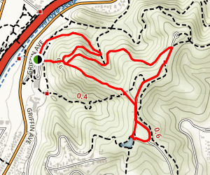 Scrub Jail Trail Map
