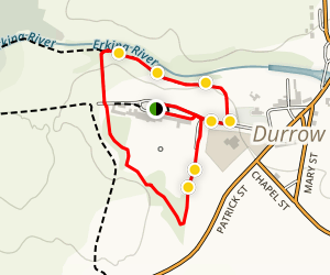 Castle Durrow Grounds Walking Tour Map