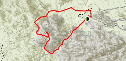 Joshua Tree Peak Trail Map