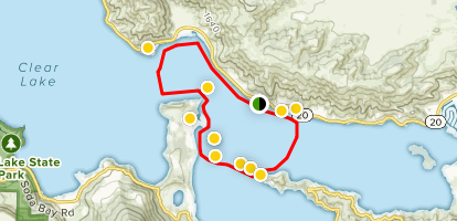 Island Hopping at the Narrows Map