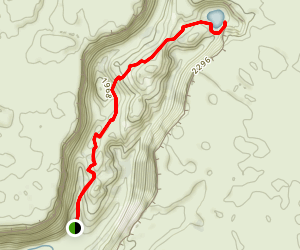 Northrup Canyon Map