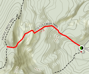 Cultus Creek Trail Map