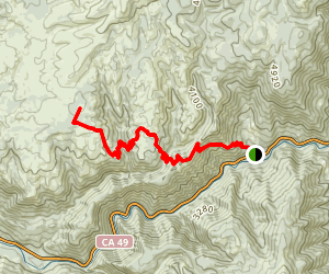 Halls Ranch Trail Map