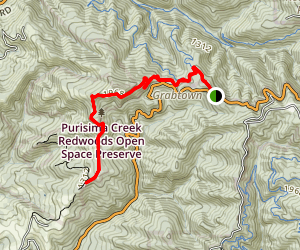 Bald Knob Trail Map