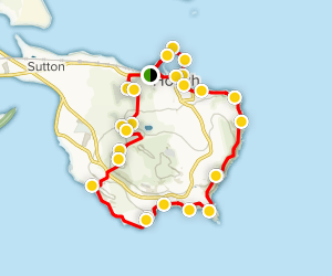 Howth Loop Trail Map