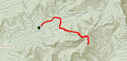 Peekamoose and Table Mountains Trail Map
