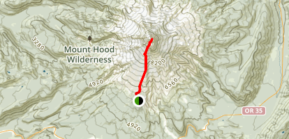 Mount Hood - Oregon Highpoint Map