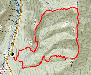 Mount Lafayette via Old Bridle Path Map
