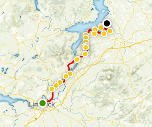 Lough Derg Way Map