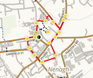 Nenagh Heritage Walking Tour Map