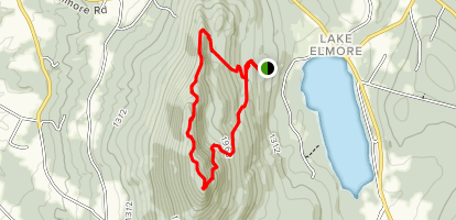 Mount Elmore  Map
