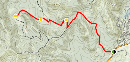 High Country Meadows Trail Map