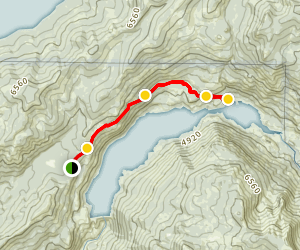 Hell Hole Reservoir 4x4 Trail Map