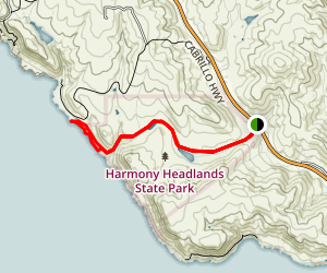 Headlands Trail Map