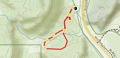 Hagen Trail Map