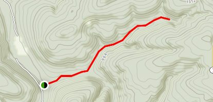 Moccasin Gap Horse Trail Map