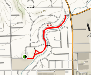 Fullerton Creek Trail Map